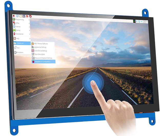 7 Inch LCD Capacitive Touch Screen